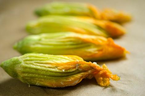 Zucchini Blossoms Stuffed