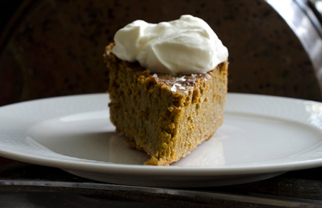 Salted Pumpkin Pie