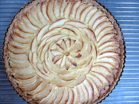 Apple Tart Done Lee and Lou Cook