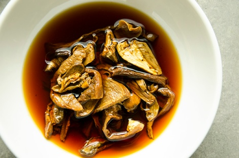 Mushroom Barley Soup - Lee and Lou Cook