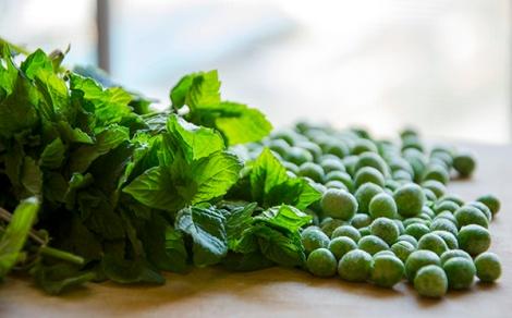 Arancini-Peas and Mint