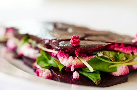 Layered Beet Salad