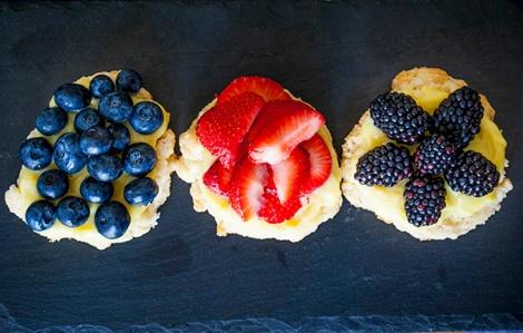 Fresh Fruit Shortcakes