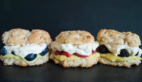 Fresh Fruit Shortcakes