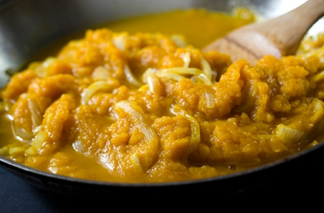Curried Pumkin Soup