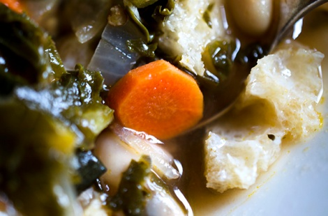 Sunday Winter Greens Soup