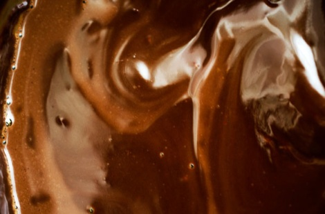 Chocolate Raspberry Bourbon Pops