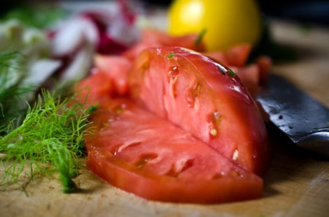 Grilled Salmon Grain Bowl
