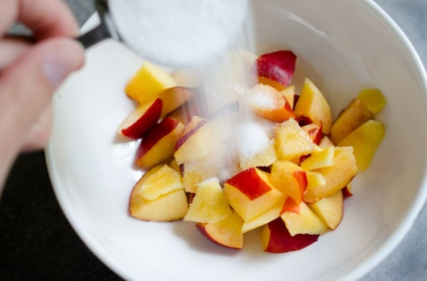Nectarine Ice Cream