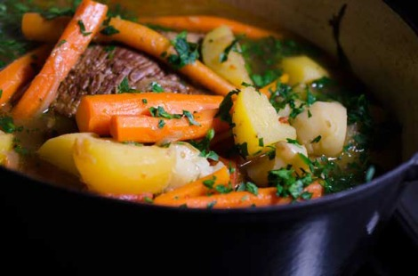 Pot Roast braised in beer