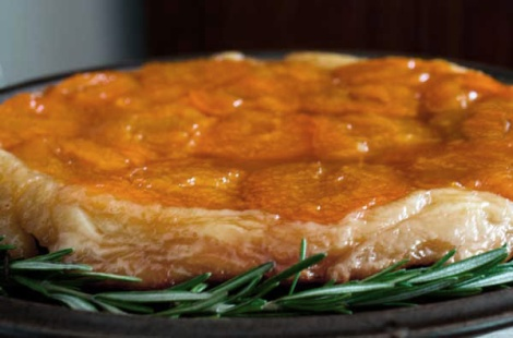 Apricot Tartin with Rosemary