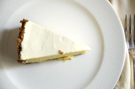 Pumpkin Cheesecake with Ginger